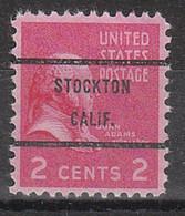 Locals USA Precancel Vorausentwertung Preo, Bureau California, Stockton 806-71 - Precancels