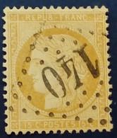 59 - 28 -   GC 140 Archiac 16 Charente-Inférieure - 1871-1875 Ceres