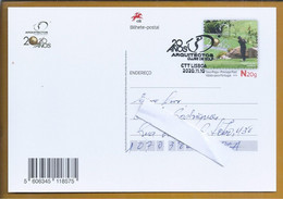 Golf. Postal Stationery Of The 20 Years Of The Golf Club 'os Arquitectos'. Golf. Briefpapier Der 20 Jahre Des Golfclubs - Golf