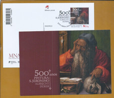 Postal Stationery Of 500 Years Of Painting S. Jerónimo By Albrecht Durer. Museum Of Ancient Art. - Other