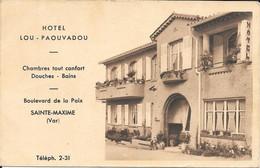 83 SAINTE MAXIME - HOTEL - LOU PAOUVADOU - Sainte-Maxime