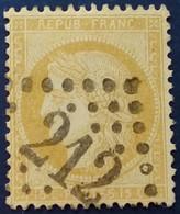 59 - 35 -   GC 212 Auch 31 Gers - 1871-1875 Ceres