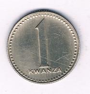1 KWANZA 1975 ANGOLA /3765/ - Angola