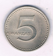5 KWANZA 1975 ANGOLA /3767/ - Angola