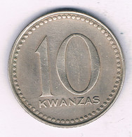 10 KWANZAS 1975 ANGOLA /3768/ - Angola