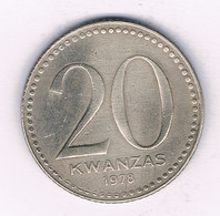 20 KWANZAS 1975 ANGOLA /3769/ - Angola