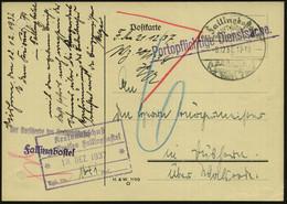 """Fallingbostel/ LUFTKURORT.../ Siebensteinhäuser 1937 (8.12.) HWSt = Dolmengrab """"Siebensteinhäuser"""" + 1L: Portopflichtige - Prehistoria"""