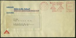 LEIPZIG N21/ Deutsche Druckfarbenfabrik/ Zülch & Dr.Scherl.. 1941 (25.6.) AFS = Sphinx U. Sonne) Dekorativer Firmen-Orts - Egiptología