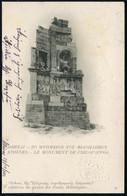 GREICHENLAND 1902 (14.12.) 5 L. BiP Hermes + Blinddruck, Oliv: Athen - Philippapos-Monument , Bedarfs-Ausl.-Karte N. Nea - Arqueología