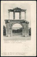GRIECHENLAND MILITÄRPOST 1919 10 L. BiP Hermes, Rot + 10 L. Blinddruck: Athen, Tor Des Adrien , Ungebr. (HG.P 12/54) - A - Arqueología