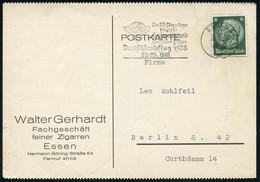 ESSEN 1/ St/ N.S.F.K./ Das NS-Fliegerkorps/ ..Deutschlandflug../ 22.-29.Mai 1938 (21.5.) Seltener MWSt = Ikarus (NSFK-Ab - Mitología