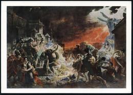 """UdSSR 1968 3 Kop. BiP Komsomolzen, Grau: """"Der Letzte Tag Von Pompei"""" = Gemälde Des Histor. Vulkan-Ausbruchs (von K. P. B - Archaeology"""