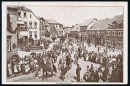 HILDBURGHAUSEN/ 600 Jahrfeier-Ausstellungen-Festspiel 1924 (25.7.) HWSt (= Ritter Mit Urkunde) Auf Monochromer Festspiel - Archaeology