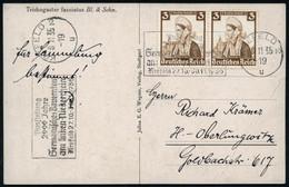 KREFELD 2/ U/ Ausstellung/ 2000 Jahre/ Germanisches Bauerntum.. 1935 (8.11.) Seltener MWSt Klar Auf Fern-Kt. (Bo.8A) - G - Archaeology