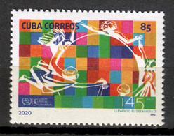 Cuba 2020 / UPU Universal Postal Union MNH Unión Postal Universal / Cu18113  C4-16 - Nuevos