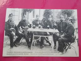 FRONTIERE LUXEMBOURGEOISE  ALLEMANDE   1905 - Non Classés
