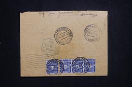 CÔTE DES SOMALIS - Taxes De Djibouti Au Verso D'une Enveloppe De Diego Suarez En Fm En 1939 Par Avion - L 97185 - Zonder Classificatie