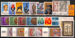 NB - [821002]TB//**/Mnh-Luxembourg 1974 - Année Complète - Años Completos