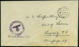 INNSBRUCK/ 3b 1941 (6.X.) 2K-Steg Mit Römischer Monatsziffer ! + HdN: Seminar F. Klass. Philologie D.Universität + 1L: F - Other