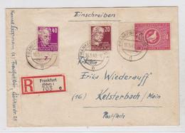 SBZ R-Brief Mit MIF Nach Kelsterbach AKs - Zone Soviétique