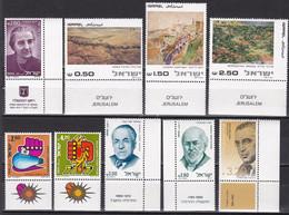 Israel - Jahrgang 1981 - Komplett Postfrisch MNH Mit Tab - Nuevos (con Tab)
