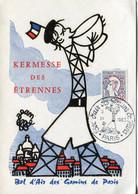 Cartes Maximum .n° 23032 .kermesse Des Etrennes . Cachet Bol D Air Des Gamins De Paris   1963 . - 1960-69
