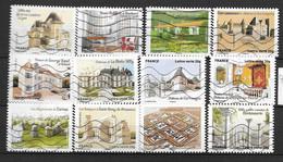 2013 - 99 - 865 à 876 - Patrimoines De France - Gebruikt