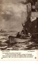 N°11311 Z -cpa Les Illégalités Allemandes En Haute Mer- - Warships