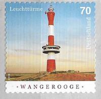 2018 Germany  Deutschland Mi. 3396R**MNH   Leuchttürme:  Neuer Leuchtturm Wangerooge - Unused Stamps