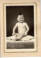 Photo Personne Bebe Enfant Medaillon Studio Art Mathieu Marseille 1952 Alain  21.5x15.5cm - Identified Persons