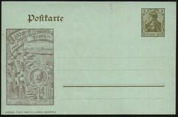 Leipzig 1909 PP 3 PF Germania, Braun: 500 Jährige Jubelfeier Der Universität 1409 - 1909 (Studenten In Uniform U. Hohen  - Other