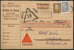 NOWAWES/ ***/ BESUCHT OBERLINSTADT NOWAWES.. 1932 (10.10.) MWSt (Schloß Babelsberg) Auf Ebert 3 Pf. U. 20 Pf. Rollenmark - Other