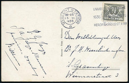 NIEDERLANDE 1936 (15.6.) MWSt: UTRECHT STATION/*/ UNIVERSITEIT../1636 1936/ SOL IVSTITIA ILLUSTRAT NOS (Sonne) Klar Gest - Other