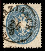ANTICHI STATI  - LOMBARDO VENETO - LEVANTE AUSTRIACO - Baziasch (P.ti R) - 10 Soldi (L39) Usato (4.500 Su Frammento) - Unclassified