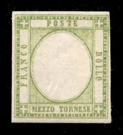 ANTICHI STATI  - NAPOLI - 1861 - Senza Effigie - Mezzo Tornese (17ala) - Gomma Integra - Unclassified