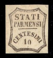 ANTICHI STATI  - PARMA - Governo Provvisorio - 1859 - 10 Cent (14) - Gomma Originale - Diena (2.200) - Unclassified