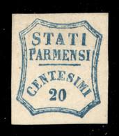 ANTICHI STATI  - PARMA - Governo Provvisorio - 20 Cent (15) - Nuovo Senza Gomma - Fiecchi + Diena (550) - Unclassified
