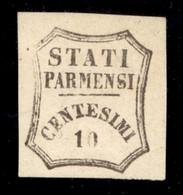 ANTICHI STATI  - PARMA - Governo Provvisorio - 1859 - 10 Cent (14) - Gomma Parziale - Diena - Unclassified