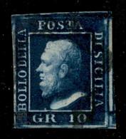 ANTICHI STATI  - SICILIA - 1859 - 10 Grana (12) - Usato - Diena (900) - Unclassified