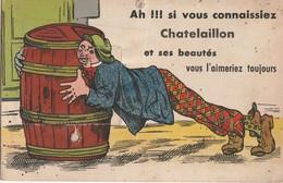 CHATELAILLON -  Ah Si Vous Connaissiez Chatelaillon Et Ses Beautés Vous L'aimeriez Toujours.  Manque Sans Le Dépliant - Châtelaillon-Plage