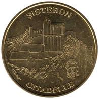 04-1064 - JETON TOURISTIQUE MDP - Citadelle De Sisteron - 2016.02 - 2016