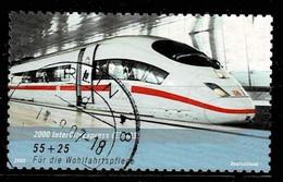 Bund 2006,Michel# 2567 O  Wohlfahrt: Eisenbahnen In Deutschland, Selbstklebend - Usados