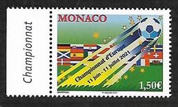 Monaco 2021 - Championnat D'Europe De Football ** - Nuevos
