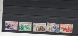 Yvert Série Borodino 6 à 10 ** Neuf Sans Charnière  LVF - Wars
