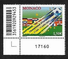 Monaco 2021 - Championnat D'Europe De Football ** - Neufs
