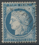 Lot N°60950  Variété/n°60, Oblit GC étranger 5004 Ain-Temouchen, (Oran), Ind 14, Filet SUD, Fleuron NORD EST - 1871-1875 Ceres