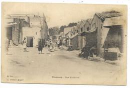 TLEMCEN- Rue Kaldoun...1921  Animé   (verso Reste Collage) - Tlemcen