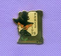 Rare Pins Toulouse Lautrec Paris 1992 Beghin Say Ferruzzi R499 - Personajes Célebres