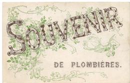 Plombières Les Dijon : Souvenir (Editeur Non Mentionné, Paris) - Other Municipalities