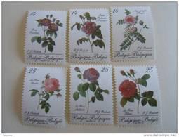België Belgique 1990 Belgica '90 Roses De Redouté Rozen 2370-2375 MNH ** - Unused Stamps
